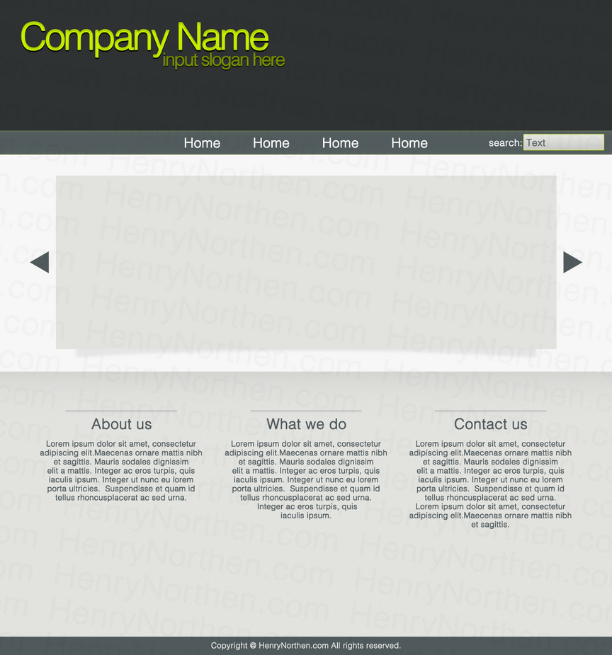 Simple website design by daedalus 95 on deviantart for Simple table css
