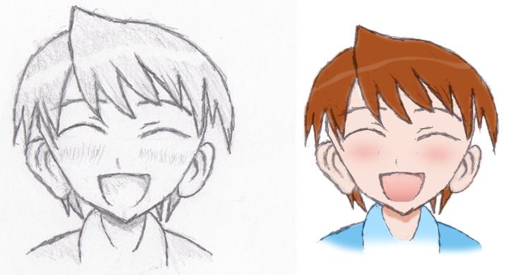 Anime Happy Face | www.imgkid.com - The Image Kid Has It!