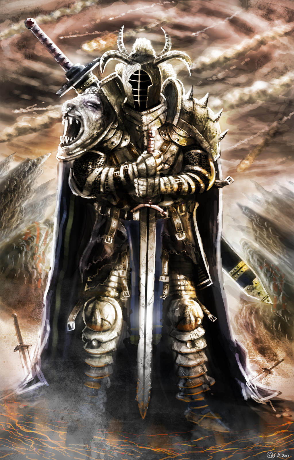 Diablo 3 contest - Crusader by Gabrix89