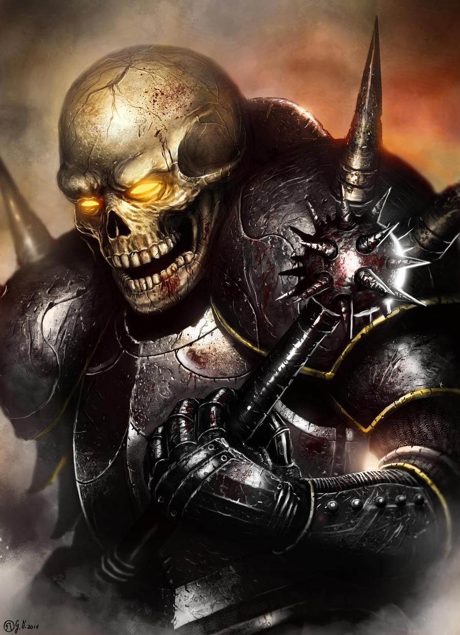 Skull warrior by Gabrix89