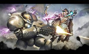 Raynor vs Sylvanas by Gabrix89