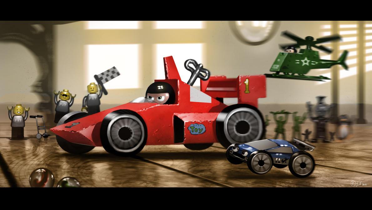 La corsa dei giocattoli by Gabrix89