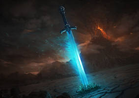 The mystic sword by Gabrix89