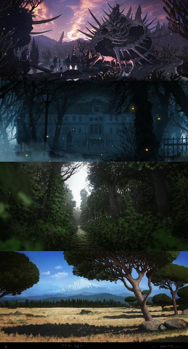 Final fantasy 7 background ideas by gabrix89 on deviantart final fantasy 7 background ideas by gabrix89 voltagebd Gallery