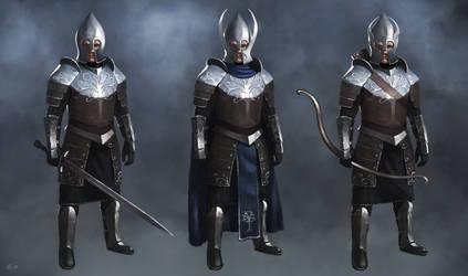 Concept art - Gondor soldiers