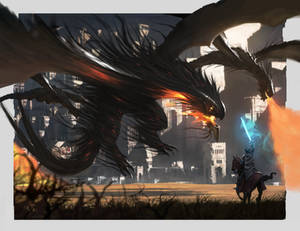 Battle with the dragons