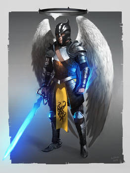 Holy warrior concept