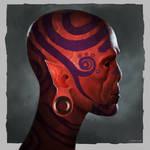 Red man - sketch