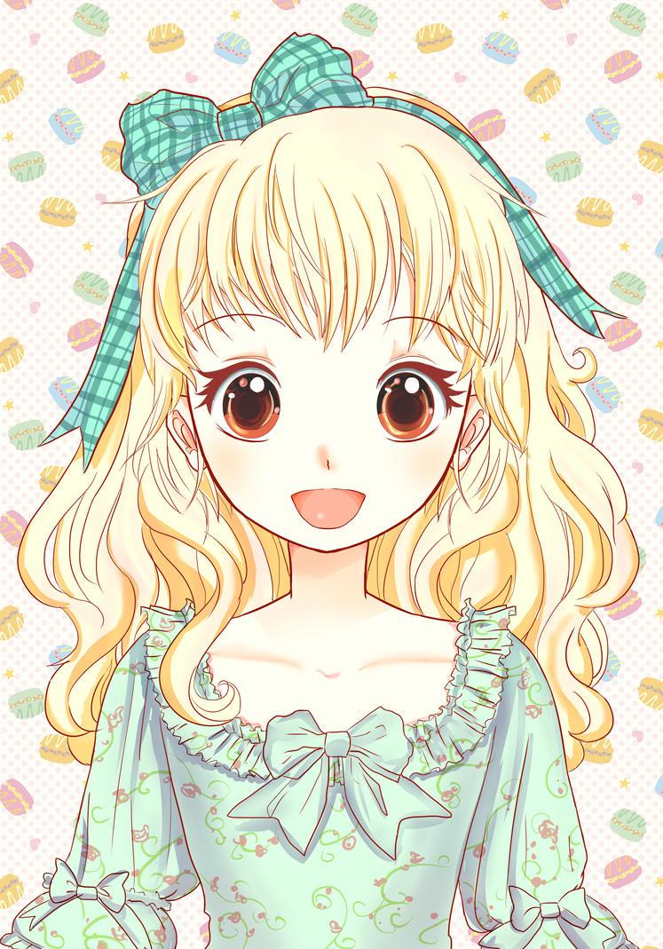 Macaron Girl by Kakashikun-90