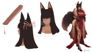 Skye OC Character design by MioChin