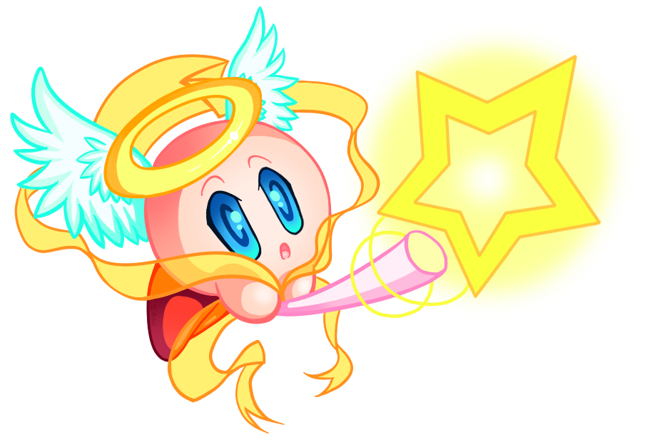 Cupid/Star Rod Kirby by TheEternalFlare
