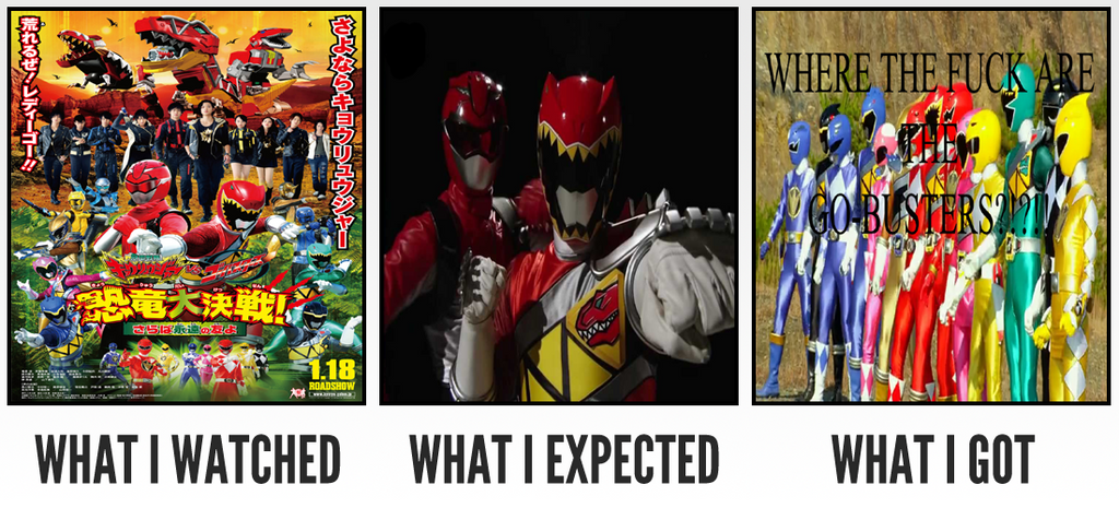 What I Watched. What I Expected. What I Got 12 by horaciosi
