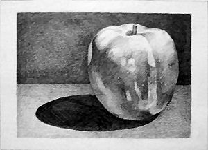 Apple - ACEO 213 by Arthay