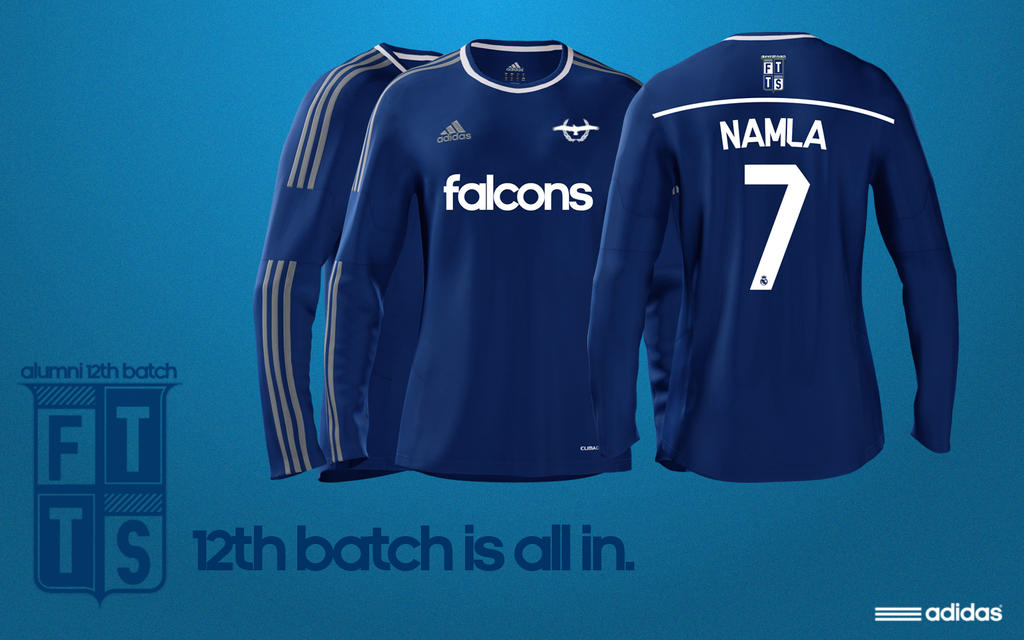 12th Batch Football Kit Design 2014 by uncannyNuncertainty