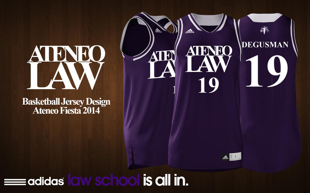 Ateneo Law Basketball Jersey Design by uncannyNuncertainty