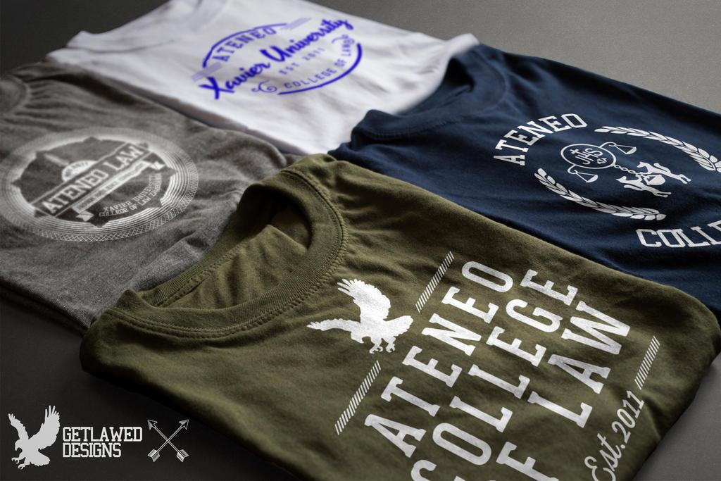 Ateneo de Zamboanga College of Law Shirt Design by uncannyNuncertainty
