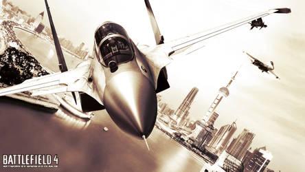 Jets over Shanghai