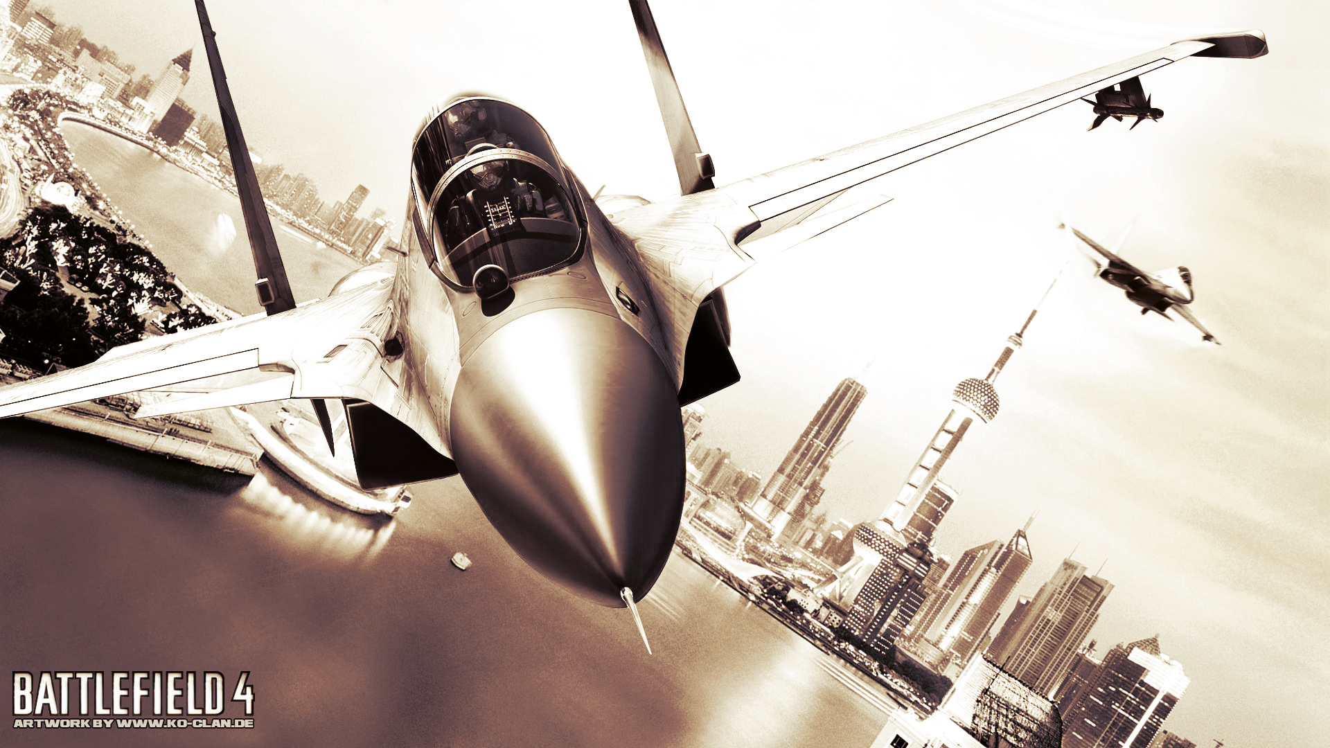 Jets over Shanghai by Ko-Clan