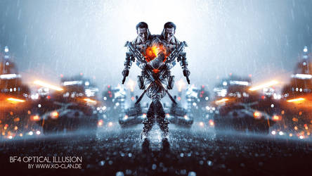 Battlefield 4 Illusion Soldier by Ko-Clan