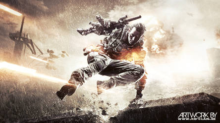 Battlefield 4 Jump Soldier by Ko-Clan