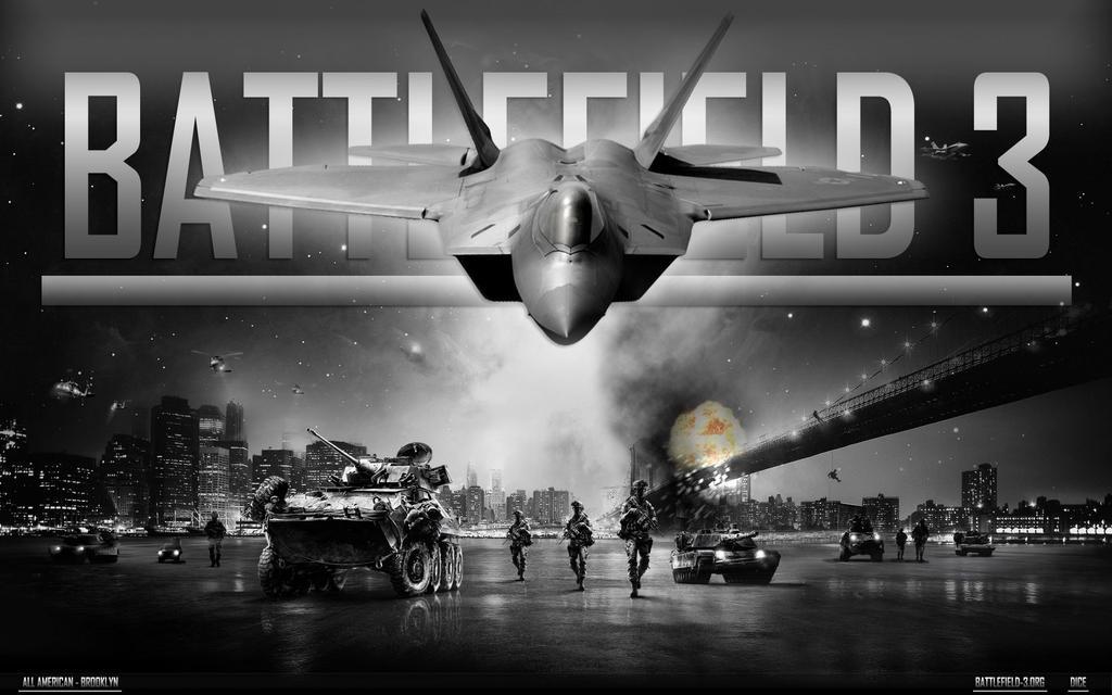 Battlefield 3 Brooklyn Bridge by Ko-Clan