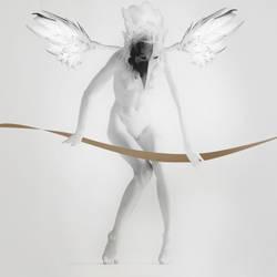 White Flying Woman by Oraku