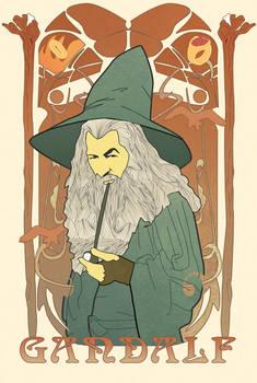 Gandalf Art Nouveau