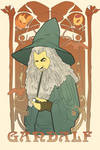 Gandalf Art Nouveau by Oraku