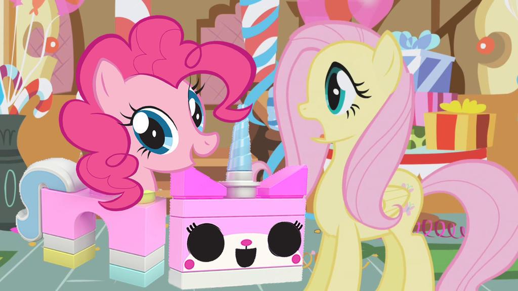 Unikitty Pinkie Pie Pinkie Pie is UniKitty by