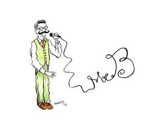 Live Sketches at Mr. B Gig 2 - Gentleman Rhymer