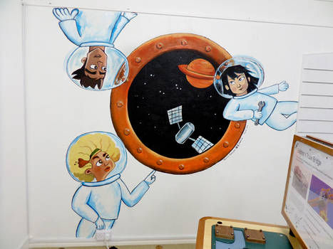 Science Centre Mural 01