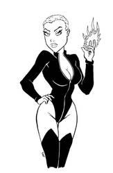 Black Bodysuit [58a] by JRS-ART