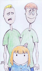 Biff, Chip and Beth [35a] by JRS-ART