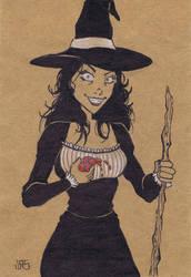 Witch [46a] by JRS-ART