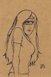 Cyclops Girl [46a] by JRS-ART