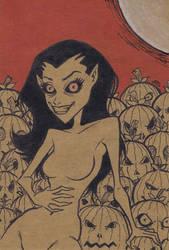 Pumpkin Goblin [46a] by JRS-ART
