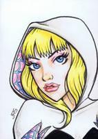 Spider-Gwen [sc1] by JRS-ART