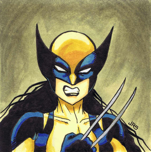 New Wolverine [p1] by JRS-ART