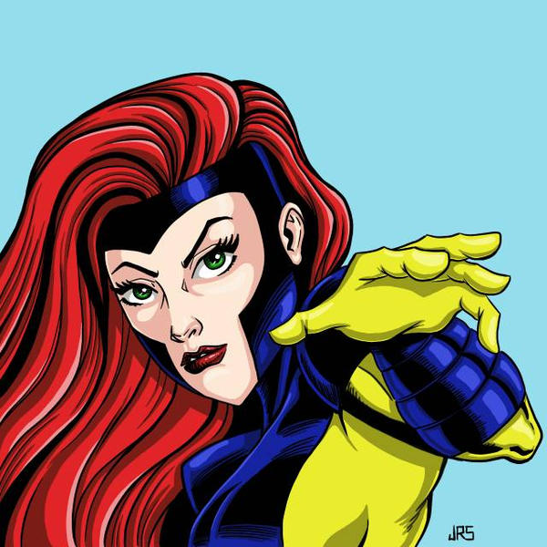 Jean Grey Color by JRS-ART