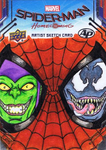 Spider-man Green Goblin Venom by JRS-ART
