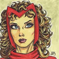Scarlet Witch [p1] by JRS-ART