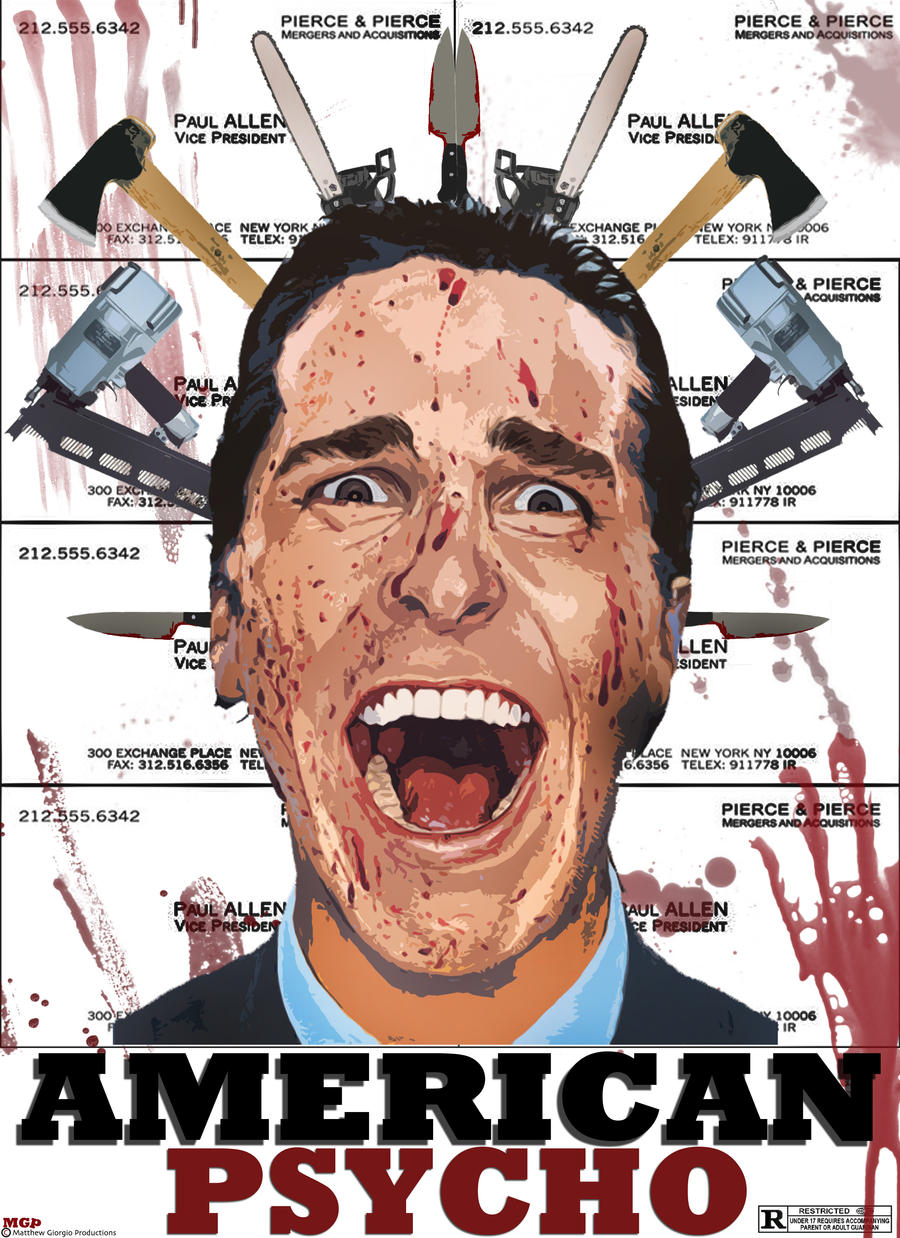 A New American Psycho Poster by MGProductions9 on DeviantArt