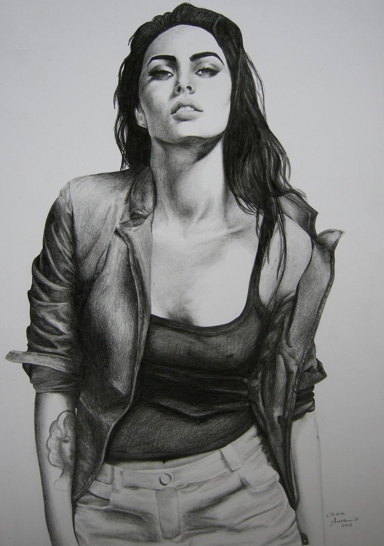 Megan Fox by kiaraausanio