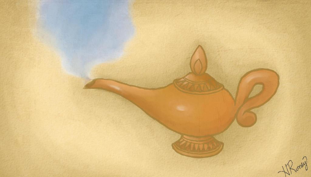 Genie, You're Free. by heatherful