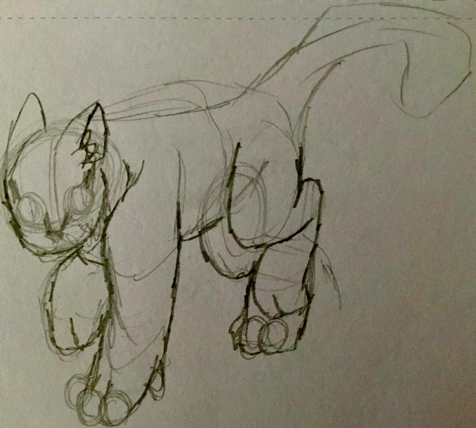 Cheshire sketch by xXXThunderstormXXx
