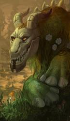 Swamp dragon by VinRage