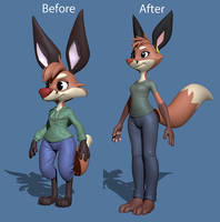 Faux Redo Before and After by Lemurfeature