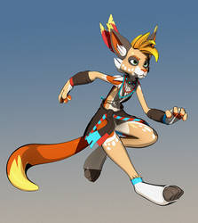 Alona (Cell Shaded) by Lemurfeature