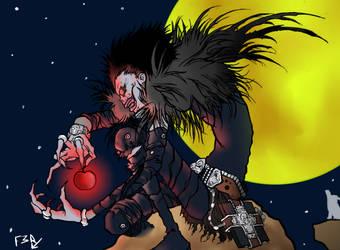 Death Note: Ryuk -Fan Art: Color- by Ferguzt