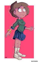 Girl Random - Illustration. by Ferguzt